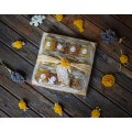 Подаръчен комплекг с 12 вида мед