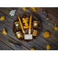 Подаръчен комплект с четири вида мед
